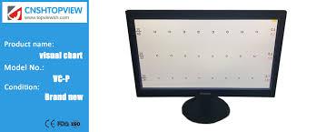Visual Chart Vc P 19 Inch Led Visual Acuity Chart Monitor Vision Tester Panel Chart Monitor