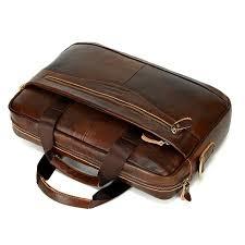 2018 new cow genuine leather business men s briefcase male shoulder bag luxury men s messenger bag tote computer handbag