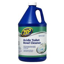 acidic toilet bowl cleaner