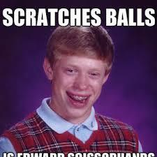 ball scratcher. ball scratcher