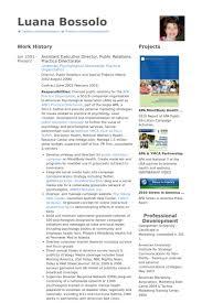 assistant executive director public relations practice directorate resume samples sample public health resume
