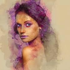 Digital Portrait Painting Digital Portraits On Behance