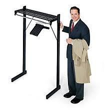 office coat racks. Unique Coat Free Standing Coat Rack  3u0027 Wide MANDSF3H In Office Racks T