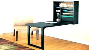wall mounted folding desk fold down during assemble out