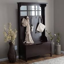entryway bench with coat rack and shoe storage home furniture inside decor 3