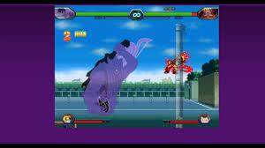 Sasuke(Susano) Vs Naruto tứ vĩ - Bleach vs Naruto 3.2 - YouTube