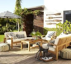 Outdoor Living Room Set Gorgeous Outdoor Living Space Brown Metal Chair Vintage Table