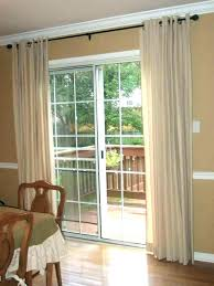 sliding glass door shades patio window treatments curtains for doors bamboo roll up blinds best t