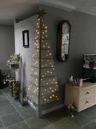 Creative Ideas Flat Wall Christmas Tree Best 25 Only On Pinterest Christmas Trees That Hang On The Wall