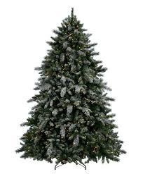 Flocked Christmas Tree Aspen Spruce Artificial Flocked Christmas Tree Tree Classics