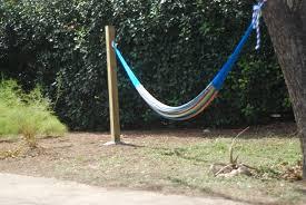 ... Lazy hammock area