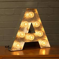 letter lighting. light up marquee bulb letters a to z letter lighting