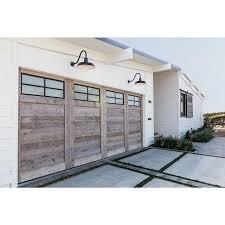 white wood garage door. Reclaimed Wood Custom Garage Door White