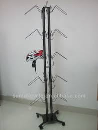 Cycle Display Stand bicycle helmet display stand KW100 View bicycle helmet display 13