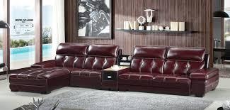 No Furniture Living Room A848 L Shape Genuine Leather Sofa Modern Home Furnitureoffice