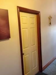 white interior doors with stained wood trim. Delighful Doors White Interior Doors With Stained Wood Trim  Floors Doors Windows U0026  Walls Pinterest Door Colors And Interior Doors To I