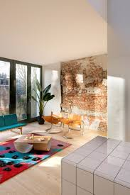 Rotterdam House with Exposed Brick Walls and Industrial Lighting 7  industrial lighting Rotterdam House with Exposed