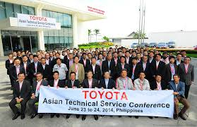 toyota ph hosts asian technical service conference