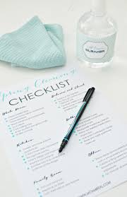 Printable Spring Cleaning Checklist - Mom 4 Real