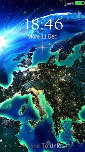 Earth live wallpaper & Lock screen for ...
