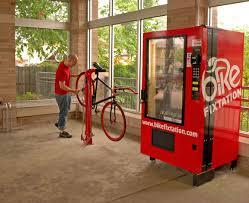 Vending Machine Repair Service Fascinating A Vending Machine For Bikes
