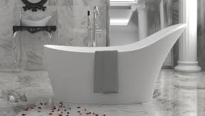 freestanding bathtubs instantly make a bathroom feel more luxurious and spa like but many people think they can be difficult to install