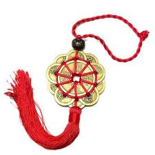 Chinese Zodiac Tiger Feng Shui <b>Butterfly Knot</b> Jade Talisman Charm