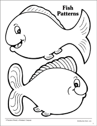 fish patterns printable.  Printable Throughout Fish Patterns Printable A