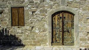 door window wooden old wall entrance church