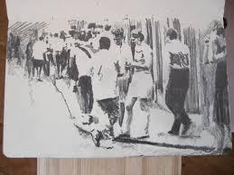 moleskine j 129 graphite pencil drawing