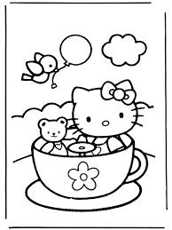 Hello Kitty Kleurplaten Kleurplatenploofr