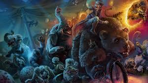 zombies circus hd wallpaper wallpaperfx