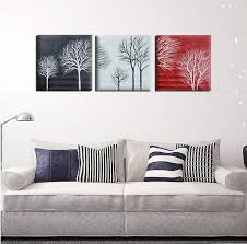 2021 black white red tree modern