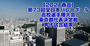 春 高 バレー 2021 東京 予選