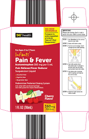 Dg Health Infants Pain And Fever Suspension Dolgencorp Inc