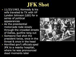 Image result for Kennedy is pronounced dead