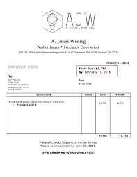bill of lading example sample resume service writing a invoice an it