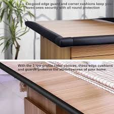 table edge guard. amazon.com : excgood table edge guard \u0026 corner bumpers for baby proofing, premium soft rubber 13ft long with 4 cushions child baby-proofing