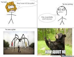 Giant Spider by profoundmark808 - Meme Center via Relatably.com