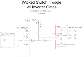 the tone god wicked switches here we have the complete schematic for the wicked switch this should give you a toggle dpdt switch from either a spst or spdt toggle switch