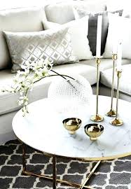 gold coffee table glass round mirrored tray ikea