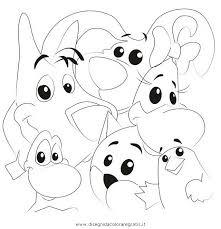 Disegno Cuccioli Misti Da Colorare