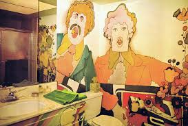 Small Picture Magical Mystery Dcor Trippy Home Interiors Of The 60s And 70s