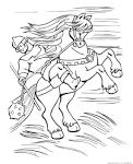 Раскраска оружие богатырей