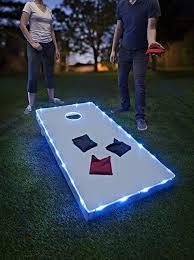 Amazon.com: Brightz, Ltd. Toss Cornhole LED Lighting Kit (Lights ...