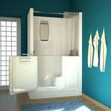Walk In Tub Shower Combo  Home Bath Tubs Showers Meditub M2747 Tub  Pinterest
