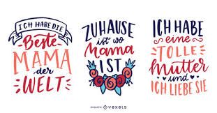 Collection Of Mothers Day Quotes Vector Download