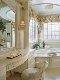 beautiful traditional bathrooms. Beautiful Built In Makeup Vanity Ideas For Efficient Space Saver: Shiny Modern Italian Traditional Bathrooms