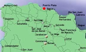 Resultado de imagen para localizacion del ambar en republica dominicana