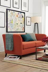 Interior Design Sofas Living Room 17 Best Ideas About Orange Sofa On Pinterest Orange Sofa Design